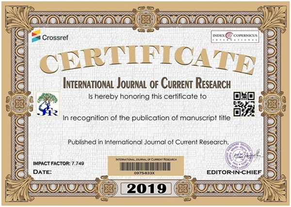 WELCOME TO IJCR | International Journal of Current Research